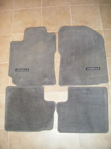 2 sets of Toyota Corolla Mats - $30