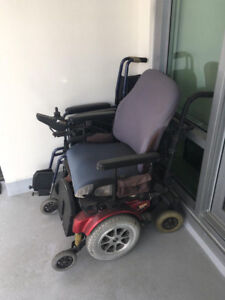 Pride Mobility Jazzy 1121 Power Chair - Used Wheelchairs