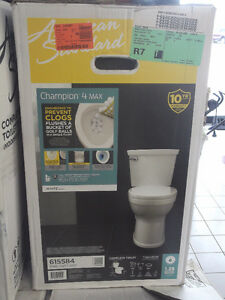 NEW AMERICAN STANDARD CHAMPION 4 MAX, RIGHT HEIGHT ROUND TOILETS