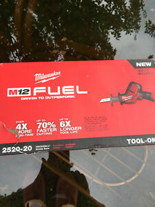 Milwaukee M12 Fuel Hackzall Recp. Saw