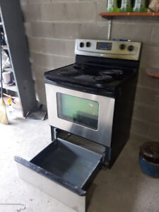 Selling Used Whirlpool Stainless Steel Cooking Stove