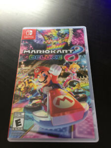 Mario Cart 8 Deluxe Nintendo Switch