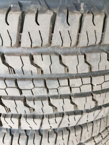Goodyear Fortitude HT P265/65r18 Take offs