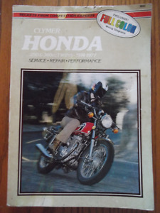 Clymer Repair Manual, Honda 250-360cc Twins 1974-1977