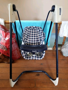 Graco 3 speed battery operated swing