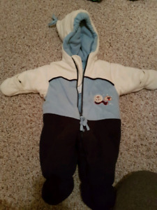 6-9 month winter suit