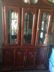 China cabinet in Fort sask
