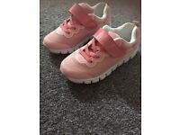 Girls Size 10 h&m trainers.