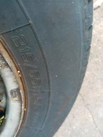 Ford transit mk7 2.2 tyres