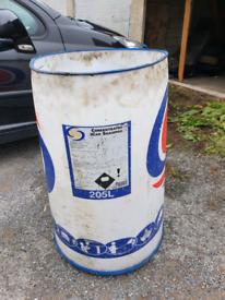 Water drum barrels container