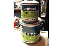 Teamac Bilge Paint, yacht , dinghy, trailer