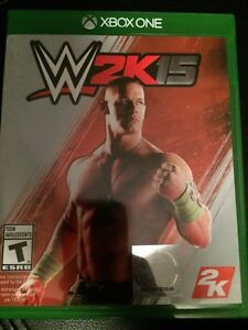 WWE 2K15 (like new condition)