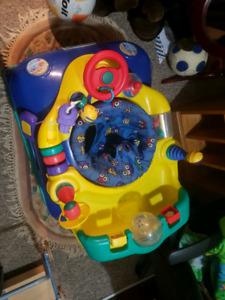 """""""Jolly Jumper"""" style bouncy car"""