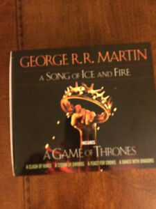 GAMES OF THRONES BOXED SET - A Song of Ice and Fire Cambridge Kitchener Area image 3