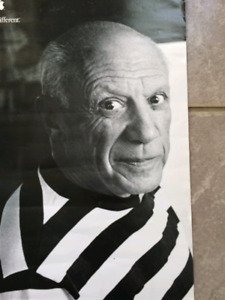 Picasso | Apple | Think Different 1997 Campaign Poster 11 x 17""