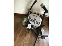 Beatles Rockband PS3 including Drum Kit, Microphone and Bass Guitar
