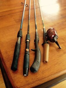 Collection of Fishing Rods