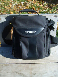 Excellent Condition: Minolta Camera Bag, Shoulder Strap