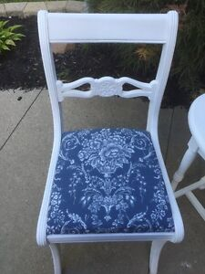 French inspired accent table and chair  Cambridge Kitchener Area image 1