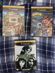 New/Used Gameboy Advance (GBA) and Gamecube Games