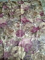 Flowered Upholstery Material