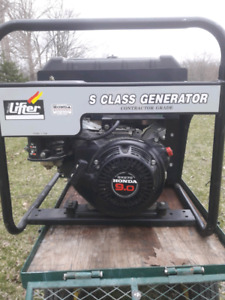 Pramac S 5000 generator w/ 9 hp Honda GX 270 engine. Only 75 hrs