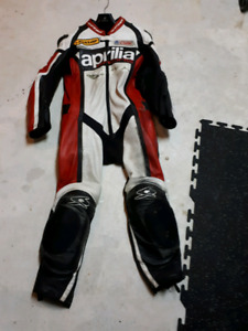 Spyke Leather Motorcycle Suit