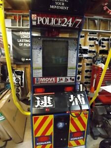 Full-size Arcade shooting game (Police 24/7)