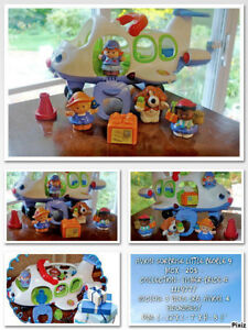 Little People Avion Fisher-Price Complet 3 piles incluses.