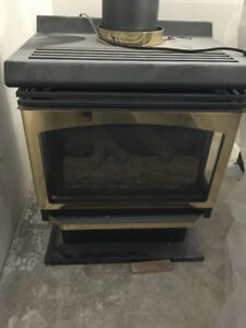 Natural Gas Stand Alone Fireplace