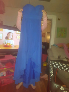 Sky blue Grad/Prom/Bridsmaid dress size 8
