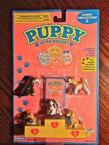 PUPPY IN MY POCKET - Puppy Collection 2 // Mint + Sealed