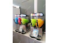 In Stock New Space Italian Design Slush Machines Iced Drinks Granita Milkshake Mocktail