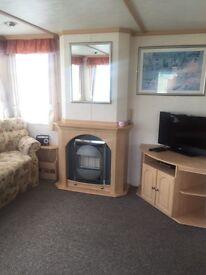 Caravan for hire Skipsea Sands nr Bridlington Scarborough