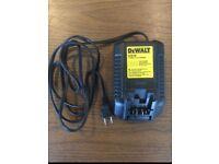 Dewalt 12 volt battery charger (110v supply)