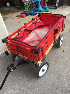 Millside wooden wagon