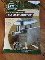 Electric meat grinder  1/3HP, 1HP= 746W