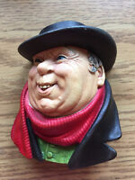 18 Bosson Chalk Head Figures - Made in England