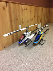 T-REX 600N OUTRAGE FUSION 50 RC HELI
