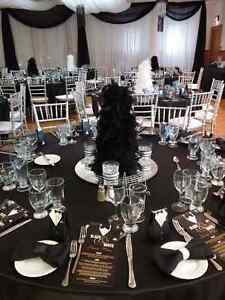 decorations for Black and White party/wedding London Ontario image 1