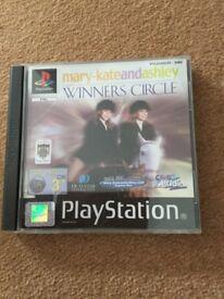 Winners circle for PS1 original black label