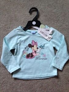 NEW with tags Minnie Top, size 12 months - $7