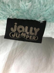 BLUE GREEN JOLLY JUMPER PILLOW Strathcona County Edmonton Area image 3
