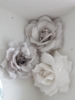 Stunning Wedding or Baby Shower Hand Made Custom Flowers