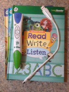 Leap Reader / 3 books included