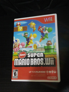 New Super Mario  Bros,  for Wii, complete in box
