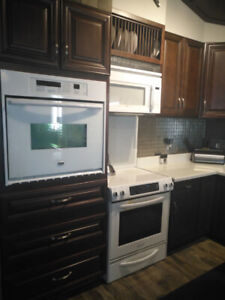 Kitchen Appliance pkg for sale all white.