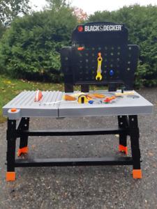Black and Decker Kids Toy Workbench