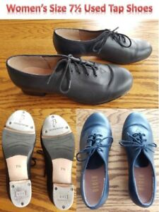 Tap Dance Shoes - Slightly Used