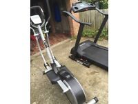 Cross trainer and Treadmill